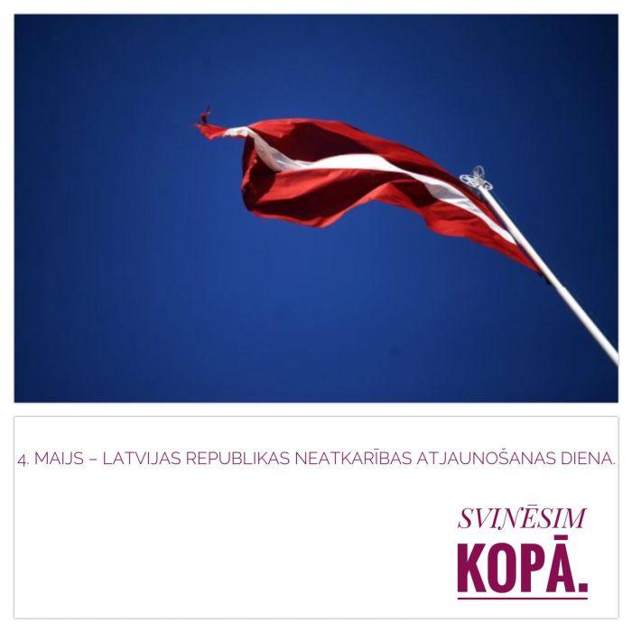 Sveicam Latviju.