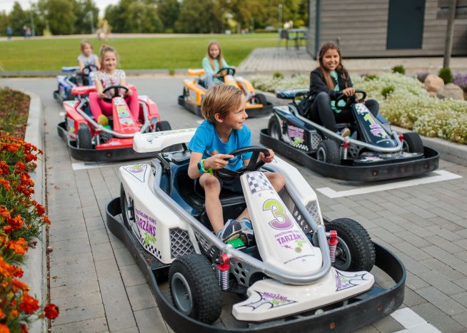 Children's Electro Go-Carts